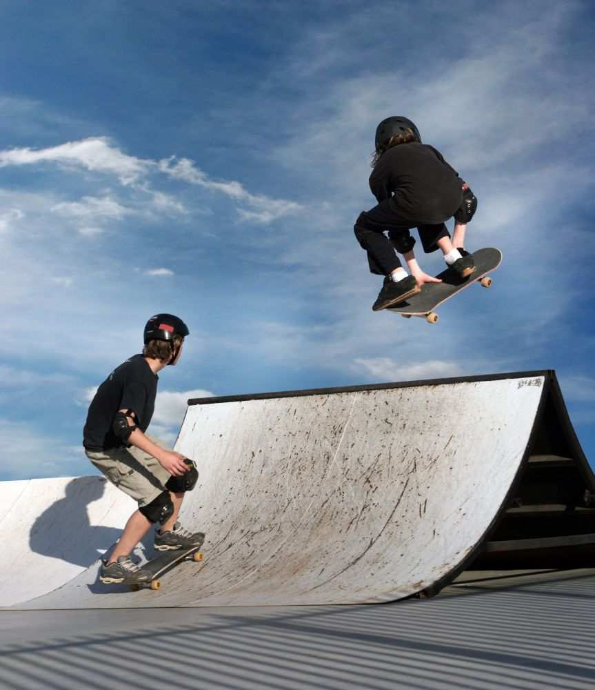 youth skateboarding