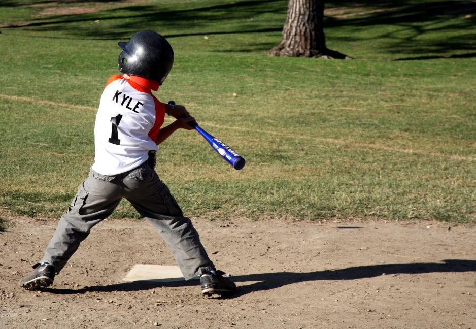 youth baseball player